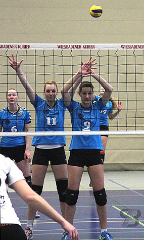 Zweite VCW-Mannschaft schlaegt im Hessenpokal auf