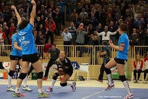 Endlich klein wieder ein Heimspiel VCW erwartet VolleyStars aus Thüringen Foto Detlef Gottwald