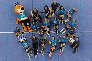 kleinOffizielles Team-Foto des VC Wiesbaden Foto-Detlef-Gottwald