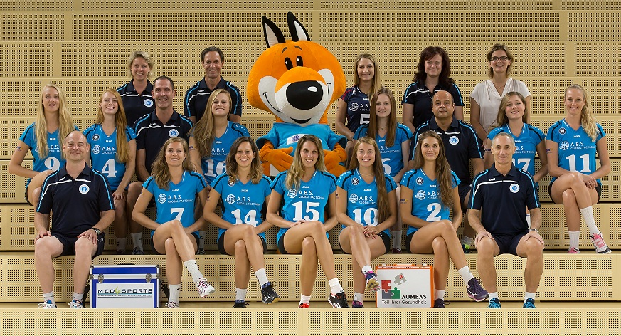vc wiesbaden 2015 2016 teamfoto 01 din a6 300dpi foto detlef gottwald