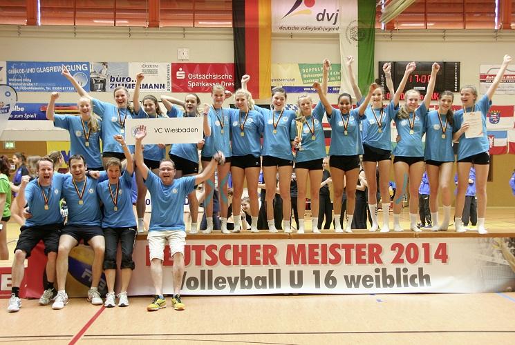 Deutscher Meister U16 2014-2mittel