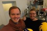 Spiel, Spaß, Spannung und viel Arbeit: Ein Praktikum beim VC Wiesbaden