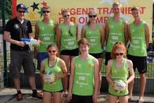 klein Schulmannschaft Beach Volleyball WK II Jg. 1998 2000