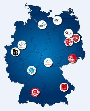 Deutschlandkarte VBL