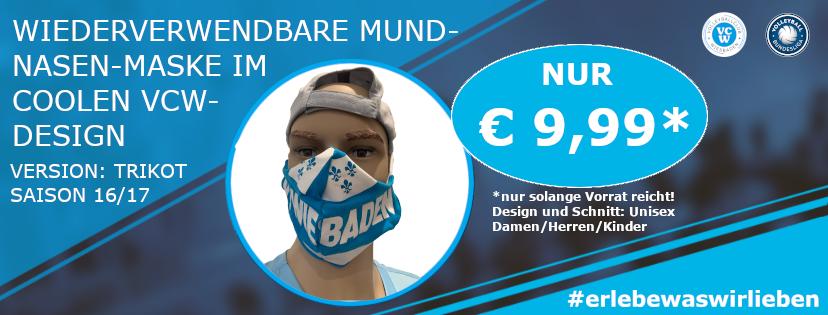 Masken Ankündigung facebook