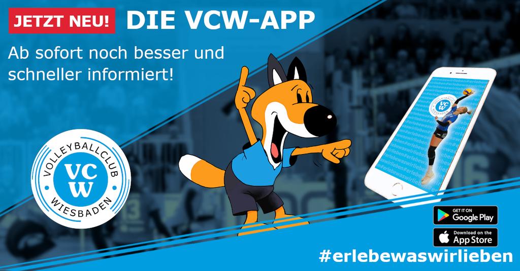 Jetzt neu: Die VCW-App für alle Fans