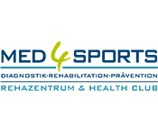 Med4Sports Logo Rehazentrum Health Club