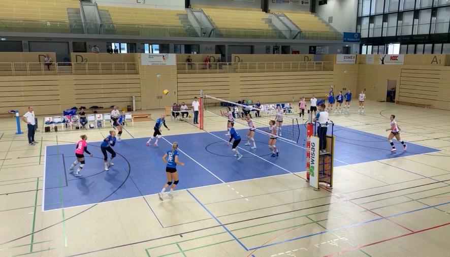 Knappe Testspiele am Wochenende gegen Pfeffingen und Stuttgart