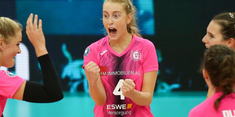 """3:2: VCW gewinnt """"Volleyball-Krimi"""" gegen den USC Münster"""