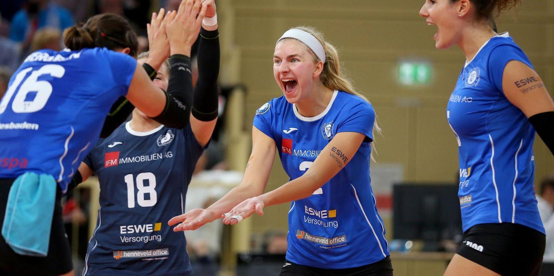 Volleyballfest zum Saisonauftakt: VCW schlägt Potsdam im Tiebreak