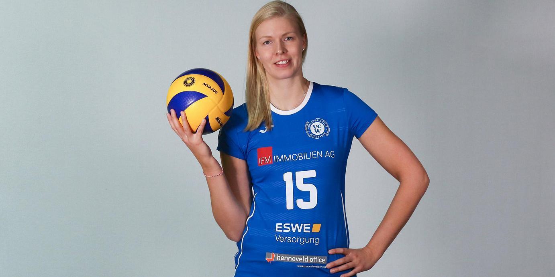 Finnische Nationalspielerin Laura Pihlajamäki kommt