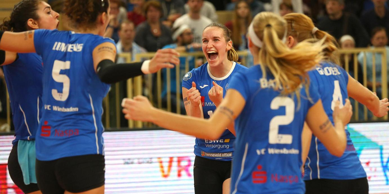 Sieg nach großem Kampf: VCW holt in Potsdam zwei Punkte