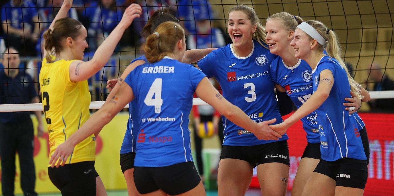 Vorentscheidung im Kampf um die Playoffs: VC Wiesbaden empfängt Vilsbiburg