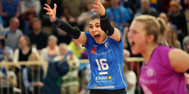 Hauptrundenfinale mit ehemaligen VCW-Stars: VCW-Heimspiel gegen Suhl