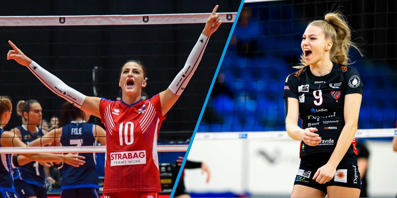 VCW-Mittelblock komplett: Nina Herelová und Lilly Topic neu an Bord