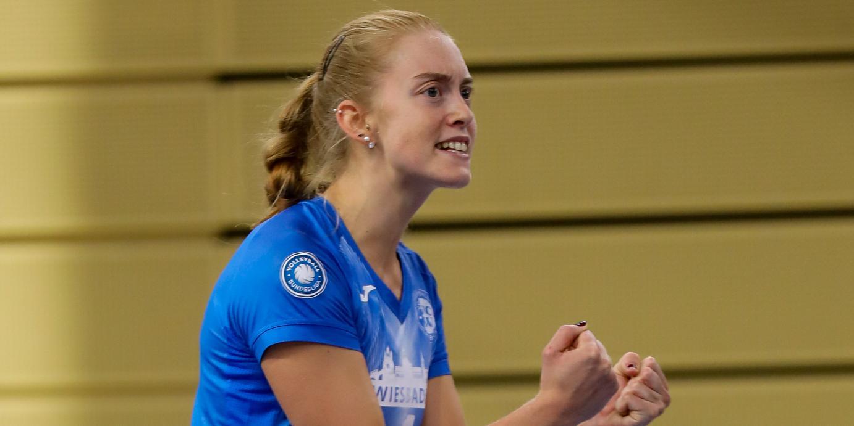 Tanja Großer spielt weiterhin für den VC Wiesbaden
