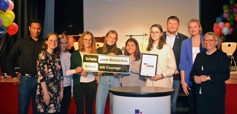 Gemeinsam gegen Rassismus  – VCW ist Pate der Martin-Niemöller-Schule