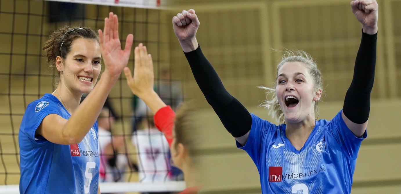 Nynke Oud und Nathalie Lemmens verabschieden sich vom VCW