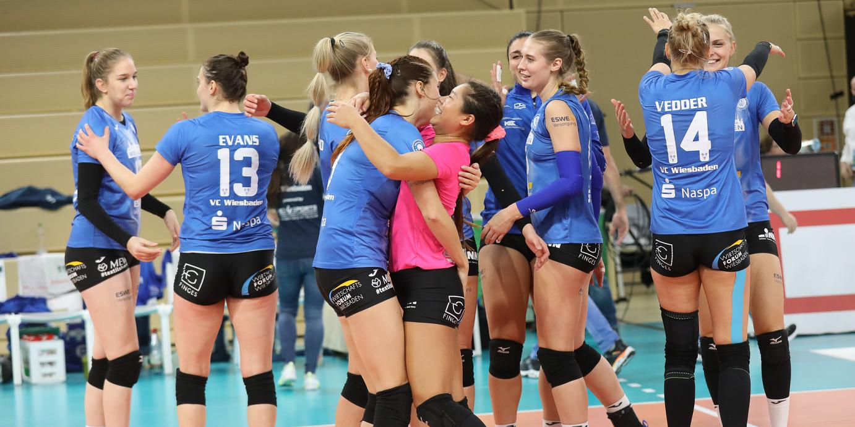 Die Sensation ist geglückt: VCW schlägt Schwerin im Tie-Break