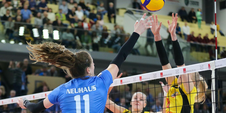 DVV-Pokal-Achtelfinale: Der VC Wiesbaden trifft auf Suhl