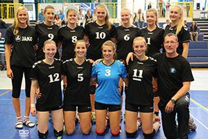 Die zweite Mannschaft des VCW im Hessenpokal