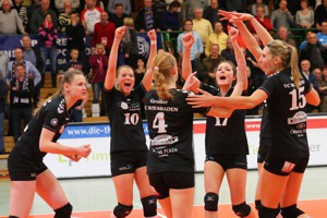 VC Viesbaden gewinnt gegen den Schweriner SC