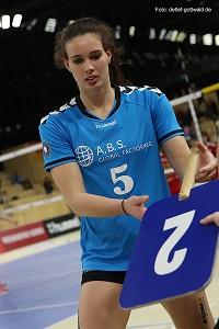Karine Muijlwijk klein zieht es aus persönlichen Gründen weg vom VCW Foto Detlef Gottwald