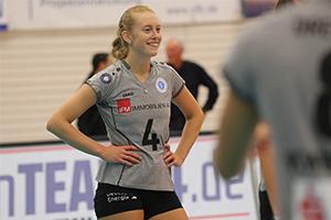 VCW- und Nationalspielerin Tanja Großer spielte selbst beim VC Olympia
