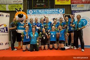 VC Wiesbaden beendetkleinSaison mit Bronze Foto-Detlef-Gottwald