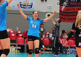 Vertragsverlängerung mit kleinZuspielerin Iveta Halbichová