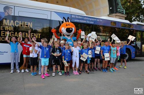 2016 09 14 25 stunden lauf Kinderlauf Gruppenbild