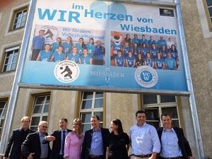 Banner Wir im Herzen der Stadt klein