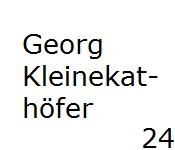 24 Georg Kleinekathöfer
