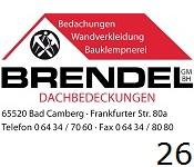 26 Brendel GmbH Dachdeckungen
