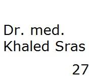 27 Dr. med. Khaled Sras