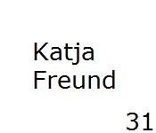 31 Katja Freund