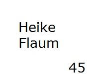 45 Heike Flaum