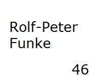 46 Rolf-Peter Funke