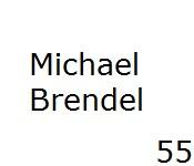 55 Michael Brendel