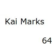 64 Kai Marks