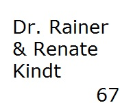 67 Dr. Rainer  Renate Kindt