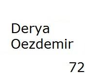 72 Derya Oezdemir