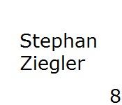 8 Stephan Ziegler