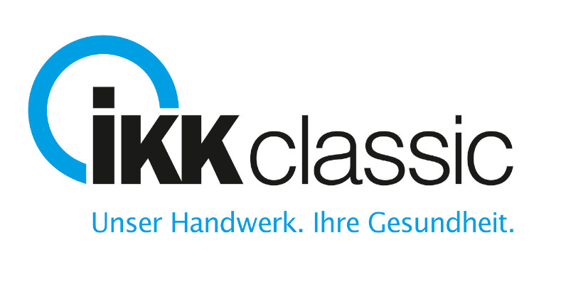 Logo IKKclassic mit Claim