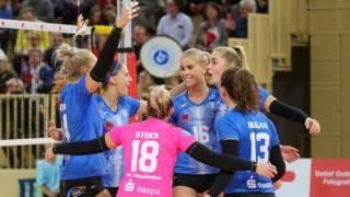 Nie ohne mein Team: Mit der R+V Versicherung als neuem Partner freut sich der VCW auf Momente wie diese in der kommenden Saison (Archivbild). Foto: Detlef Gottwald