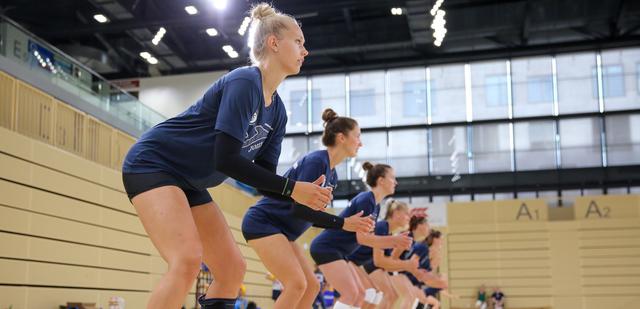 Training auf Distanz beim VC Wiesbaden